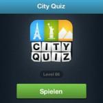 [App-Tipp] City Quiz – 4 Bilder 1 Stadt
