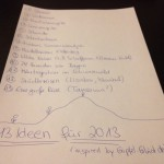13 Ideen für 2013 (inspired by @gipfelglueck)