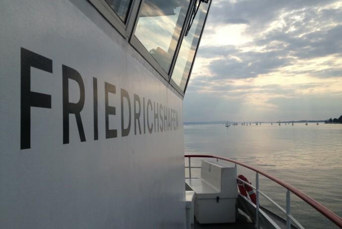 Auf der Friedrichshafen nach Friedrichshafen