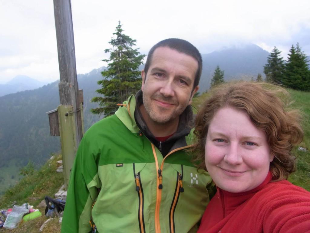 Unser Gipfelfoto auf dem Seebergkopf