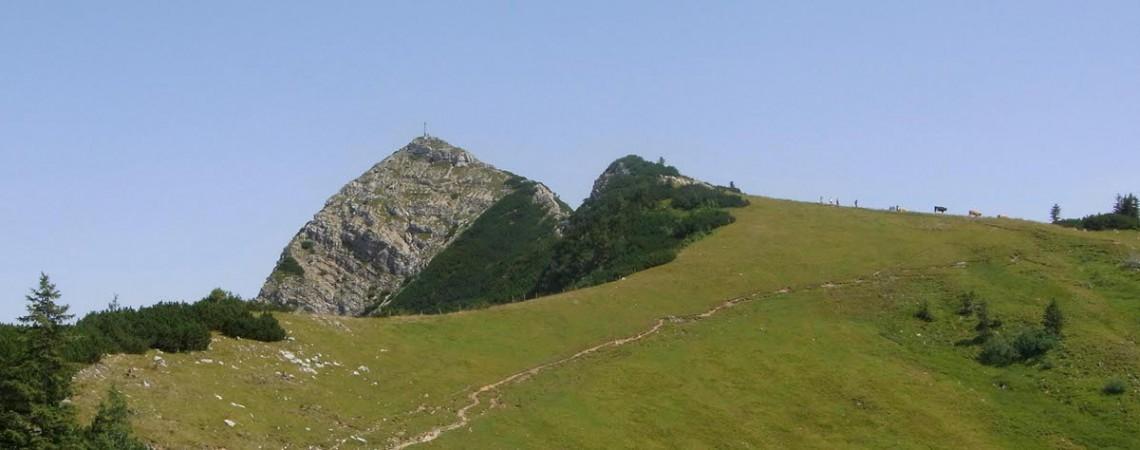 Bergtour von Geitau zur Aiplspitz und zum Jägerkamp