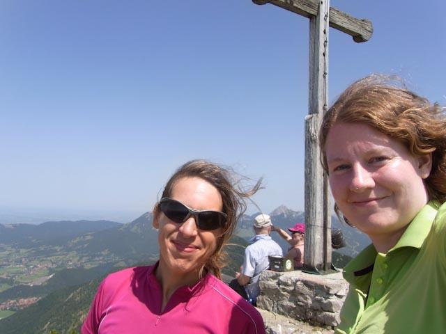 Zweifaches Gipfelglück mit Stefanie (aka Gipfelglück)