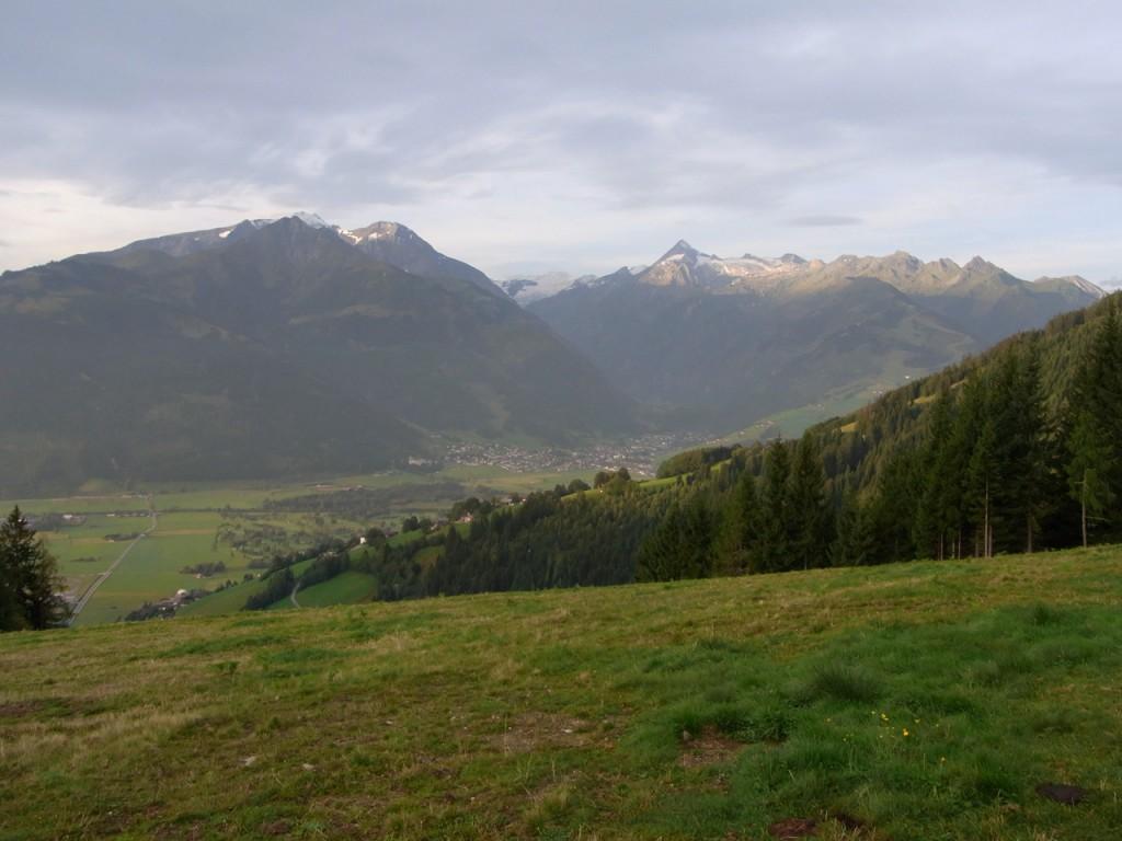 Großartiger Blick auf Kitzsteinhorn und Kaprun