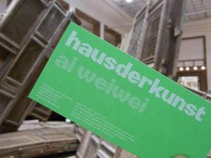 """Ai Weiwei """"So sorry"""" im Haus der Kunst"""