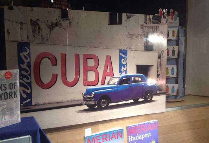 Ein Zeichen? Kuba begegnet mir gerade überall