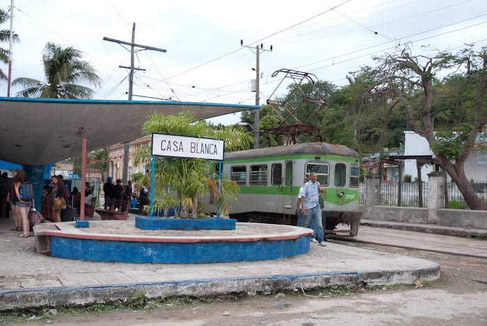 Hershey Train Bahnhof Casablanca in Havanna