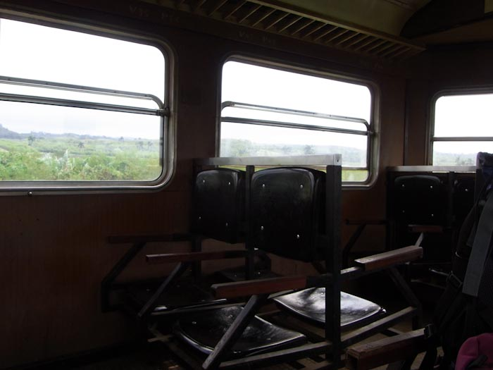 Im Hershey Train gibts Erlebnis statt Komfort