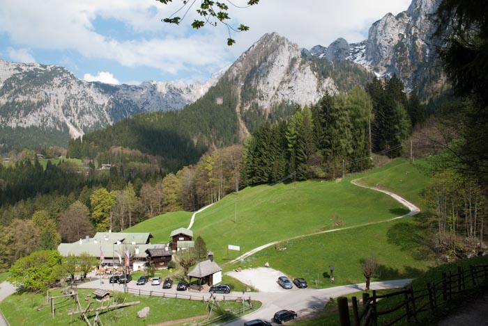 Der Alpengasthof Vorderbrand