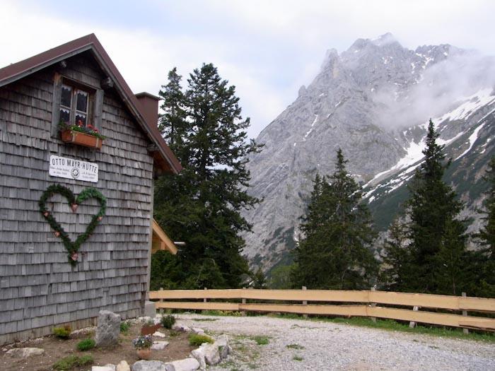Die Otto-Mayr-Hütte, ein Haus mit Herz
