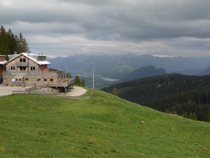 Berg Lodge mit Aussicht