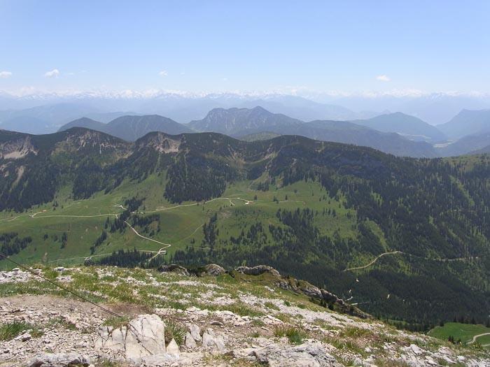 Gipfelschau auf dem Hinteren Sonnwendjoch