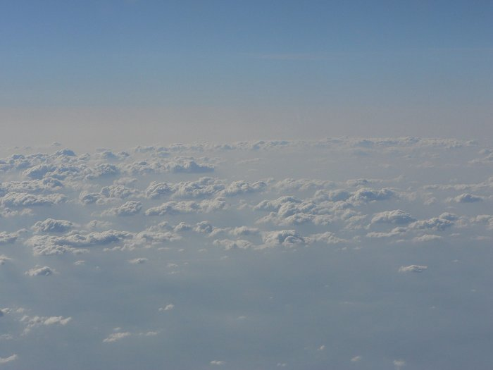 Eines von zahlreichen Wolkenfotos