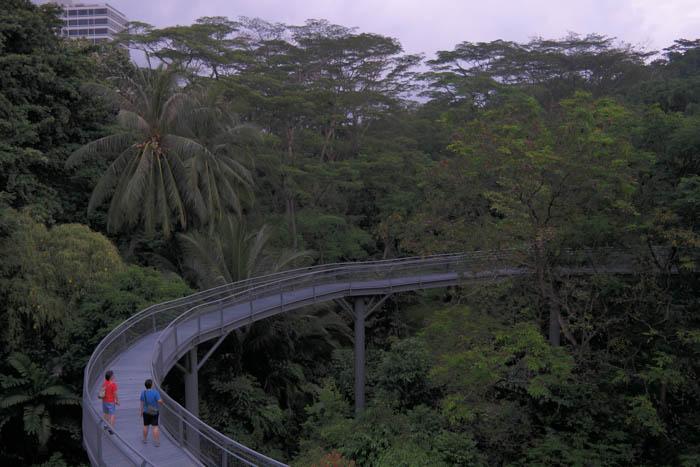 Wandern in Singapur