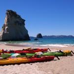 [Foto der Woche] #5 Mit dem Seekajak zu Cathedral Cove, Coromandel Peninsula, Neuseeland