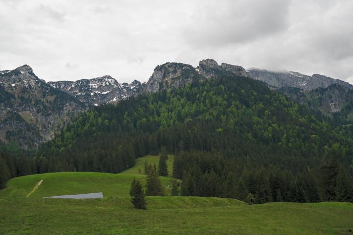 Aussicht vom Längenberggipfel