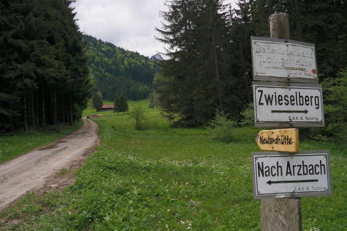 Immer in Richtung Neulandhütte zum Längenberg