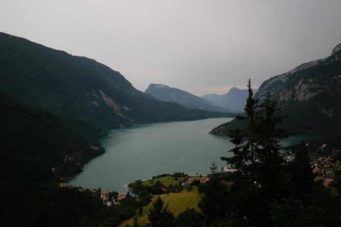 Molvenosee im Trentino