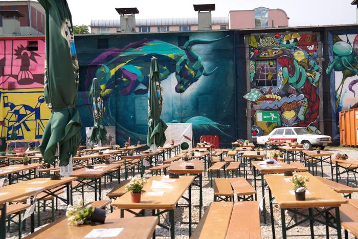 Der Alte Viehhof, einer der coolsten Biergärten Münchens
