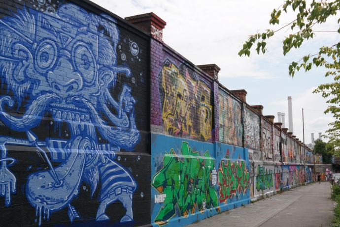 Street Art in München: Tumblinger Straße