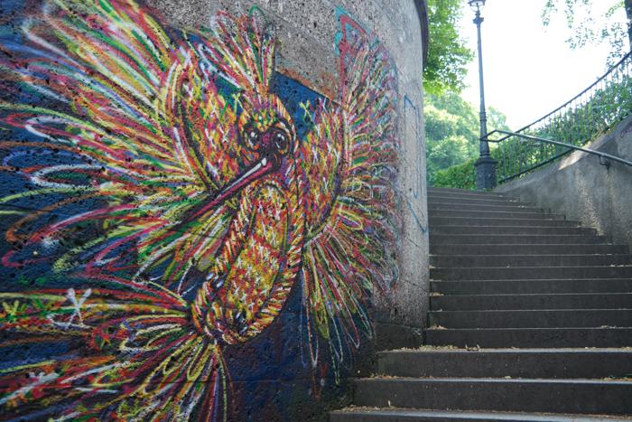 Eine der Treppen (Artist: Unknown)