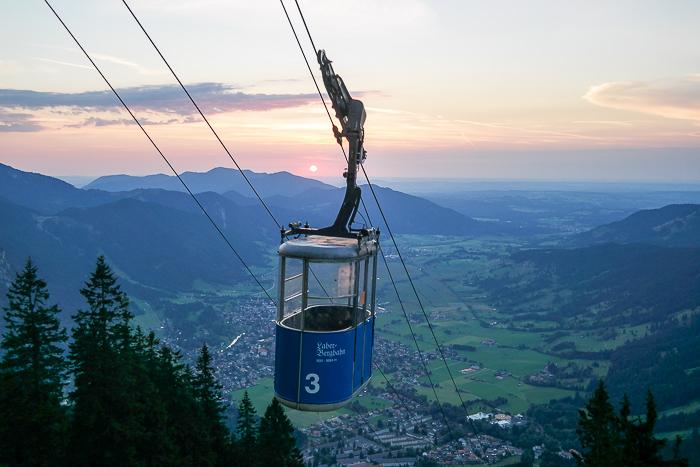 Gondel der Laber-Bergbahn