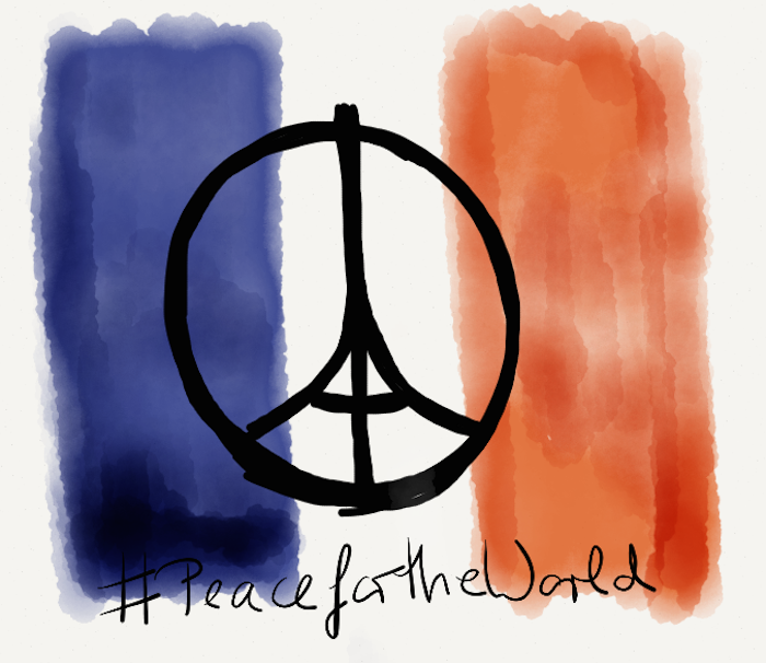 #PeaceforParis #PeacefortheWorld