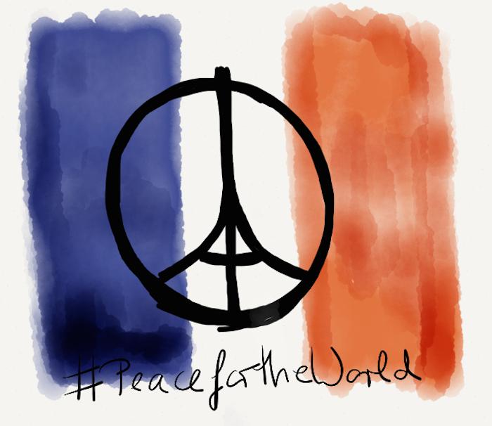 #PeaceforParis #PeacefortheWorld