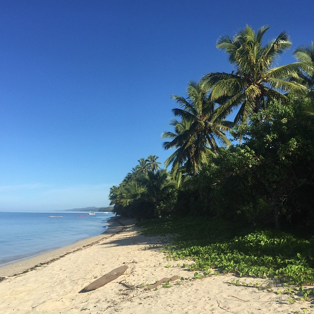 Einfach mal nichts tun am Strand von Fiji