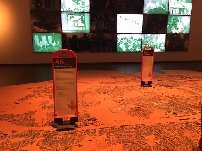 Die interaktive Installation Orte