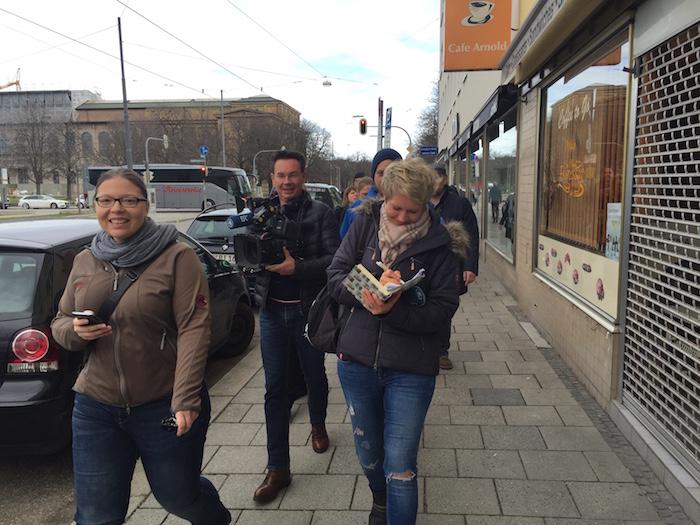 #Spurenleser unterwegs in München