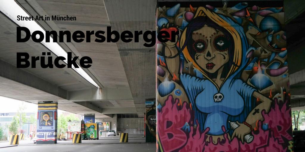 Street Art Gallery Donnersberger Brücke in München