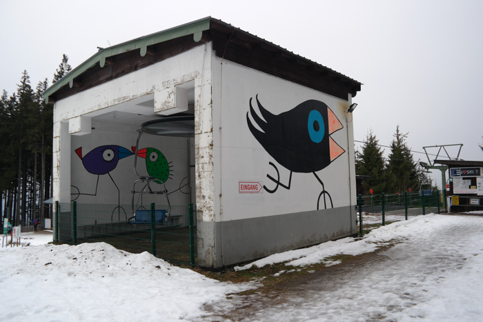 Bergstation der Blombergbahn