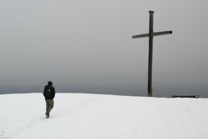 Winterwanderung zum Blomberg und Zwiesel