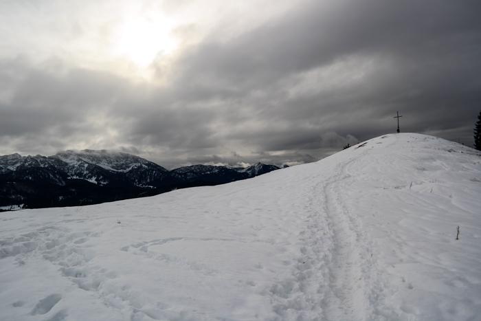 Der Zwiesel-Gipfel ist fast erreicht