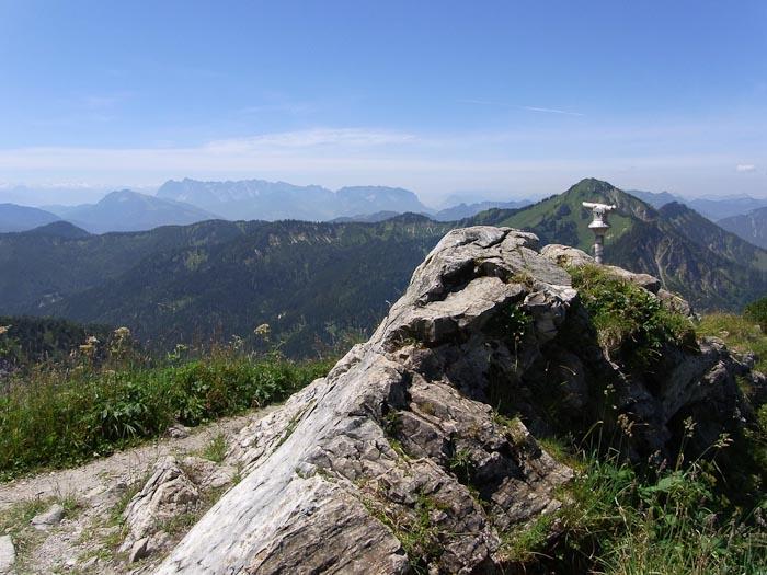 Mit Panoramablick jodelt es sich am Besten