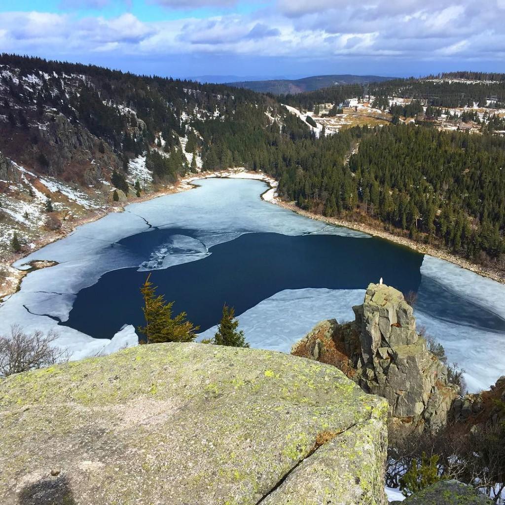 Der Lac Blanc in den Vogesen