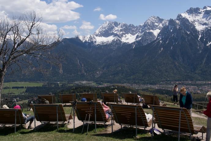 Hoher Kranzberg - Leichte Wanderung zum Panoramakino von Mittenwald