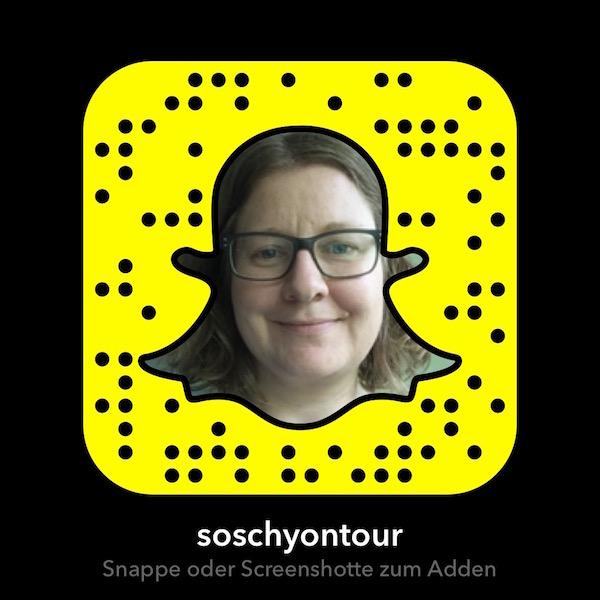 soschyontour auf Snapchat folgen